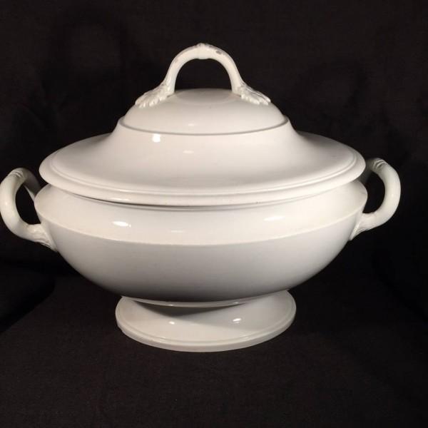 Creil Creamware Tureen