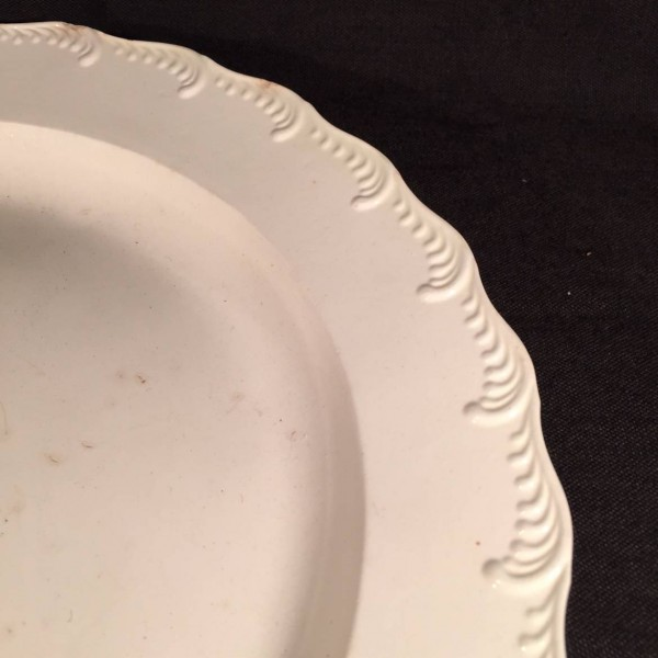 Feather Edge Creamware