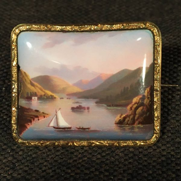 Miniature of Lake George, NY