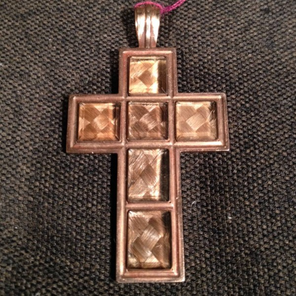 Gold and Hair Cross