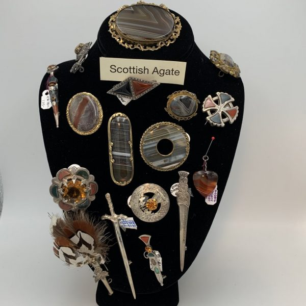 Scottish Agate Jewelry