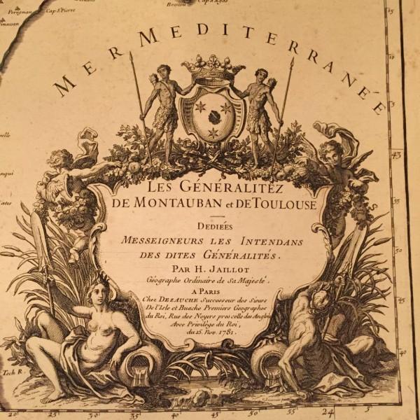 Pre-revolutionary French Maps