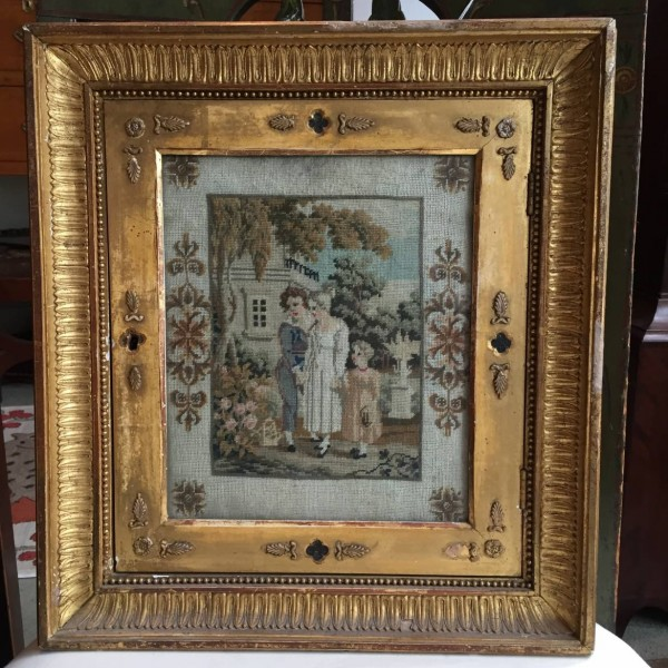 German Picture Frame Key Box