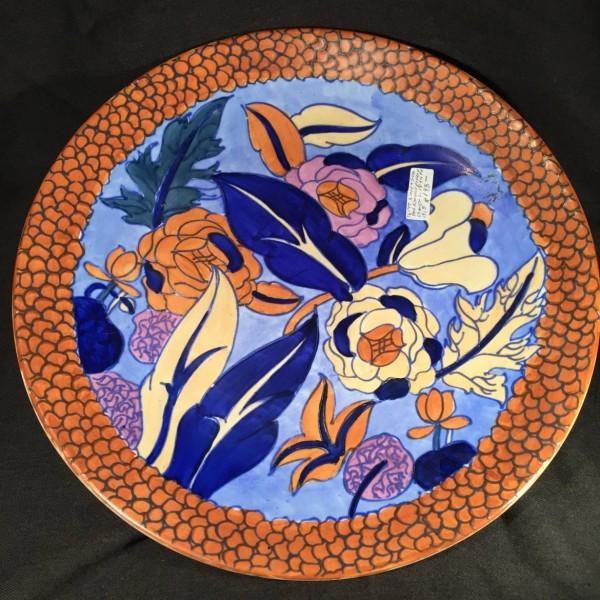 Wood & Sons Art Nouveau Charger