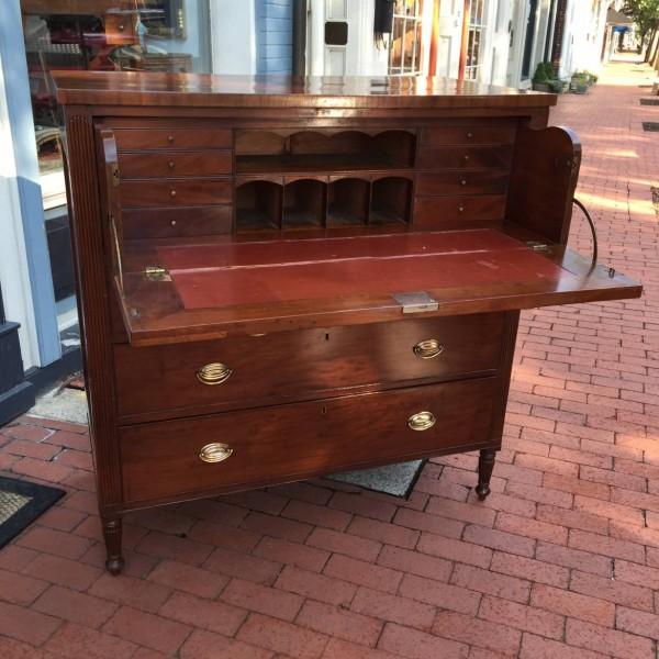American Sheraton Butler's Desk
