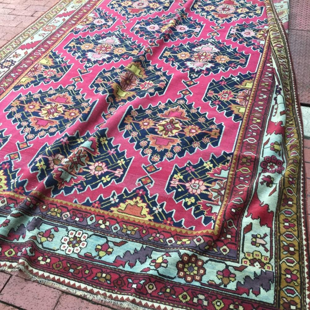 Rare Large Karabaugh Rug