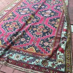 image of A Fine Senneh Saddle Rug