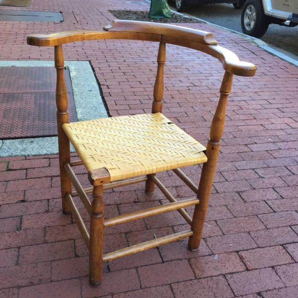 New England Maple Corner Chair