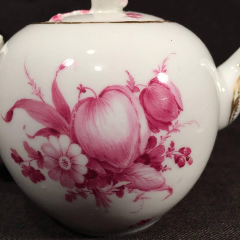 Furstenberg Porcelain Teapot Beck S Antiques Amp Books