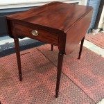 image of Chippendale Mahogany Cellarette
