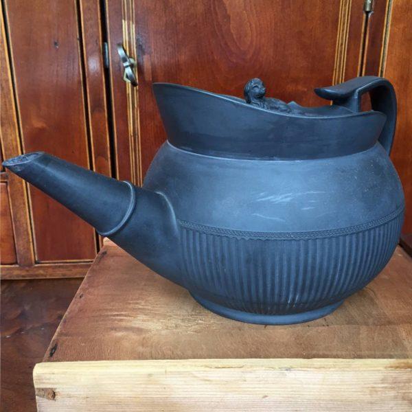 Creil Basalt Teapot