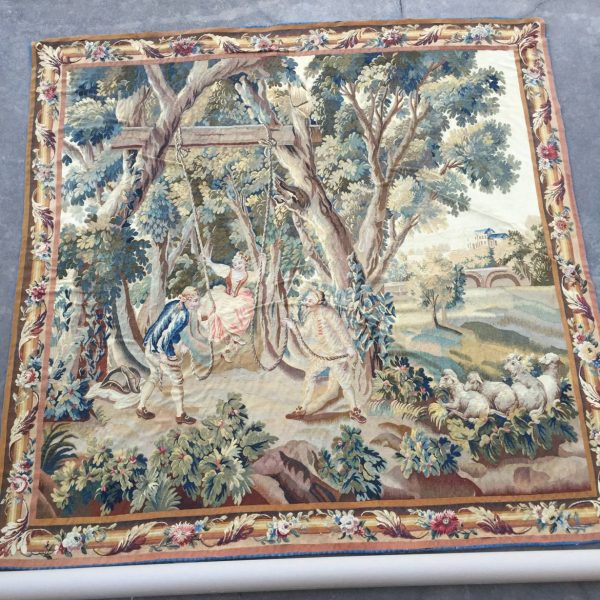 Louis XVI Aubusson Tapestry