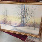 image of Robert Burns Memorial Watercolor