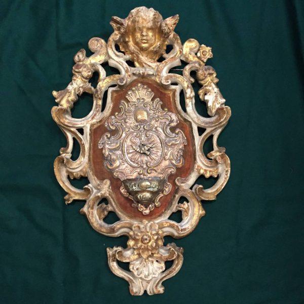 Italian Baroque Stoup