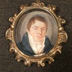 image of Miniature Portrait, signed J. Ingels