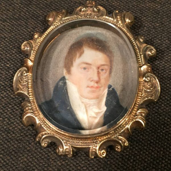 Miniature Portrait of a Gentleman