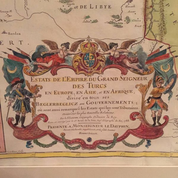 1788 French Map of Europe and the Mid-East