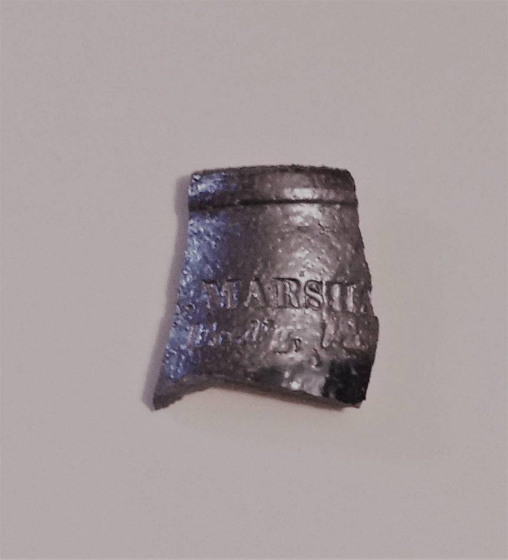 H. R. Marshall, Fred'g Va. [Fredericksburg] stoneware