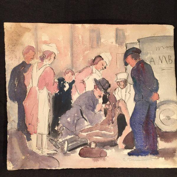 Carson Davenport, Danville, Va. Watercolor