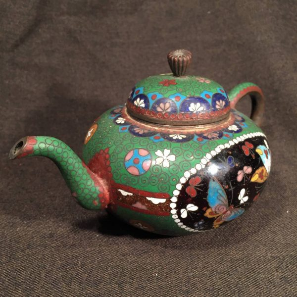 Japanese Cloisonne Teapot