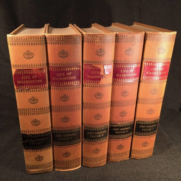 """Marshall's """"Life of Washington"""" The Fredericksburg Edition"""