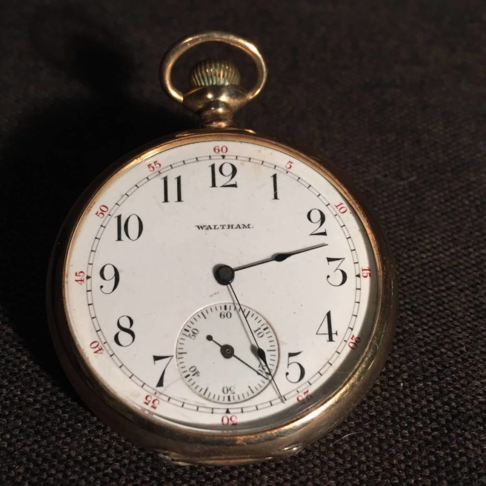 14K Waltham Riverside Pocketwatch