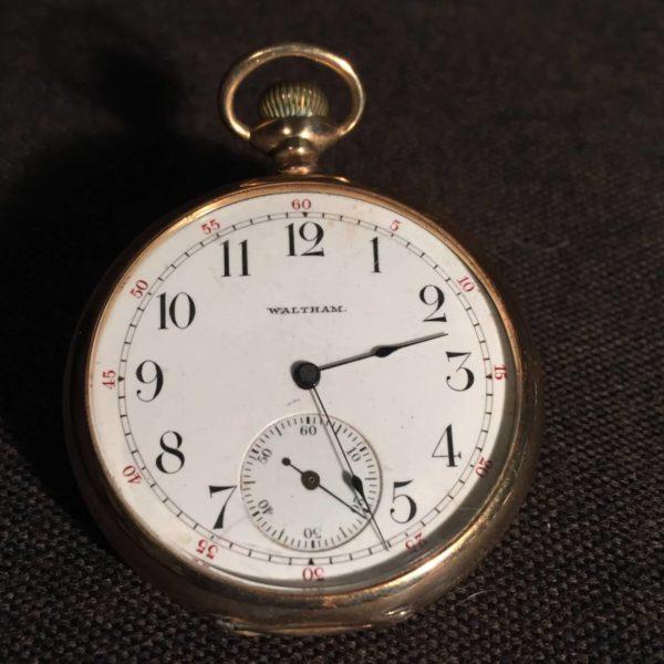 14K Waltham Riverside Pocketwatch