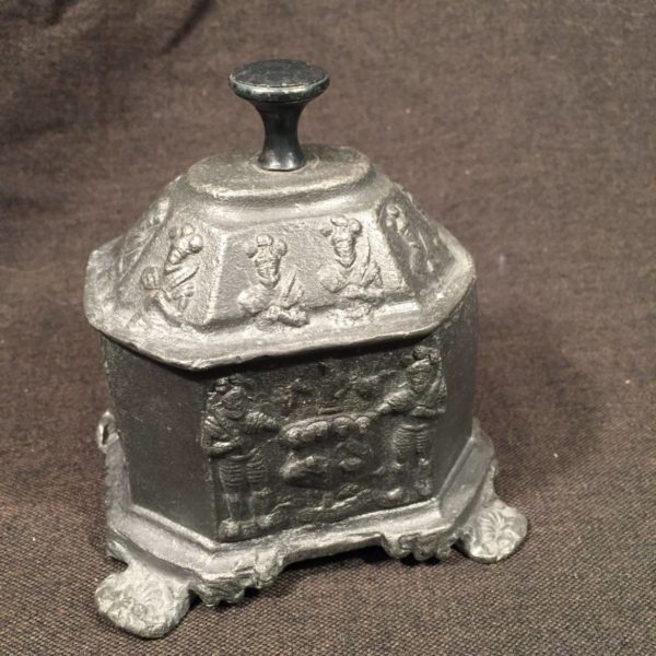 Cast Lead Tobacco Box