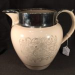 image of Ashburton or Colonial Pressed Glass Creamer