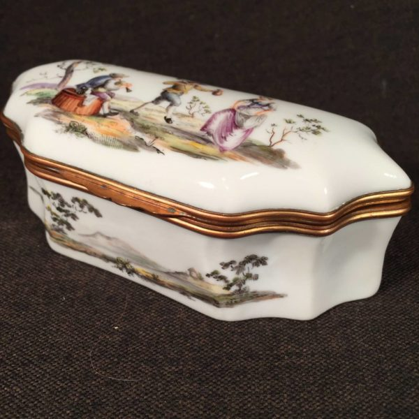 Rare Derby Porcelain Box