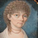 "image of Miniature Portrait, ""Taken at Riga, Jan. 1809, Wm. Thompson"""