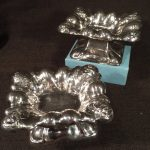 image of Austrian Silver Brighton Buns [traveling candlesticks]