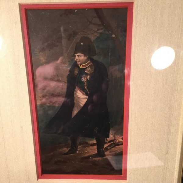 Small Watercolor Portrait of Napoleon, 1815