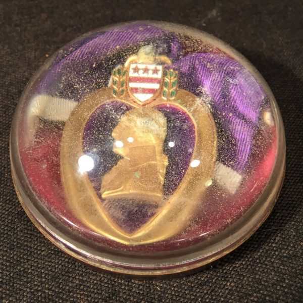 Purple Heart Paperweight