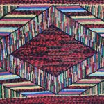 image of Rare Tibetan Temple Rug with Six Squares