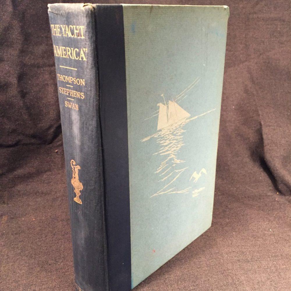 "The Yacht ""America"", Thompson-Stephens-Swan, 1925"