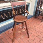 image of Four Frederick Maryland Ladderback Chairs