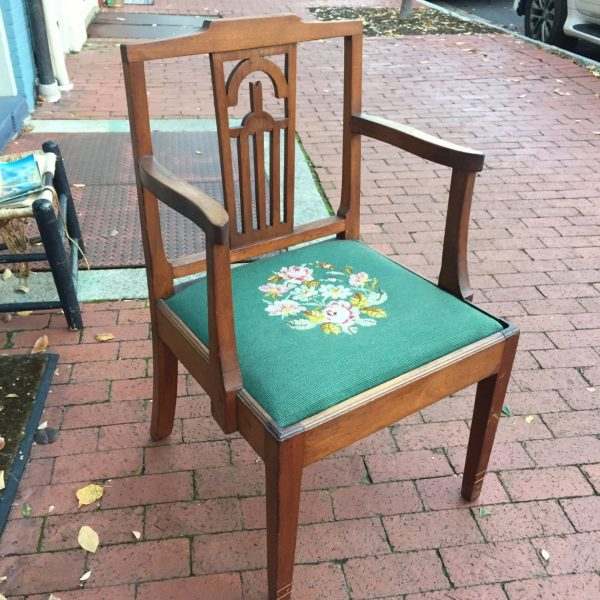 Chinese Chippendale Vernacular Armchair