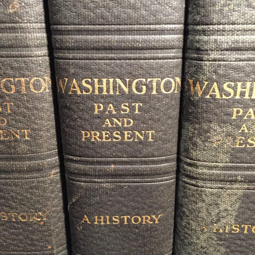 Washington, Past and Present, 4 Vols. 1930