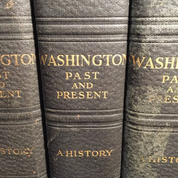 Washington, Past and Present, 4 Vols. 1930
