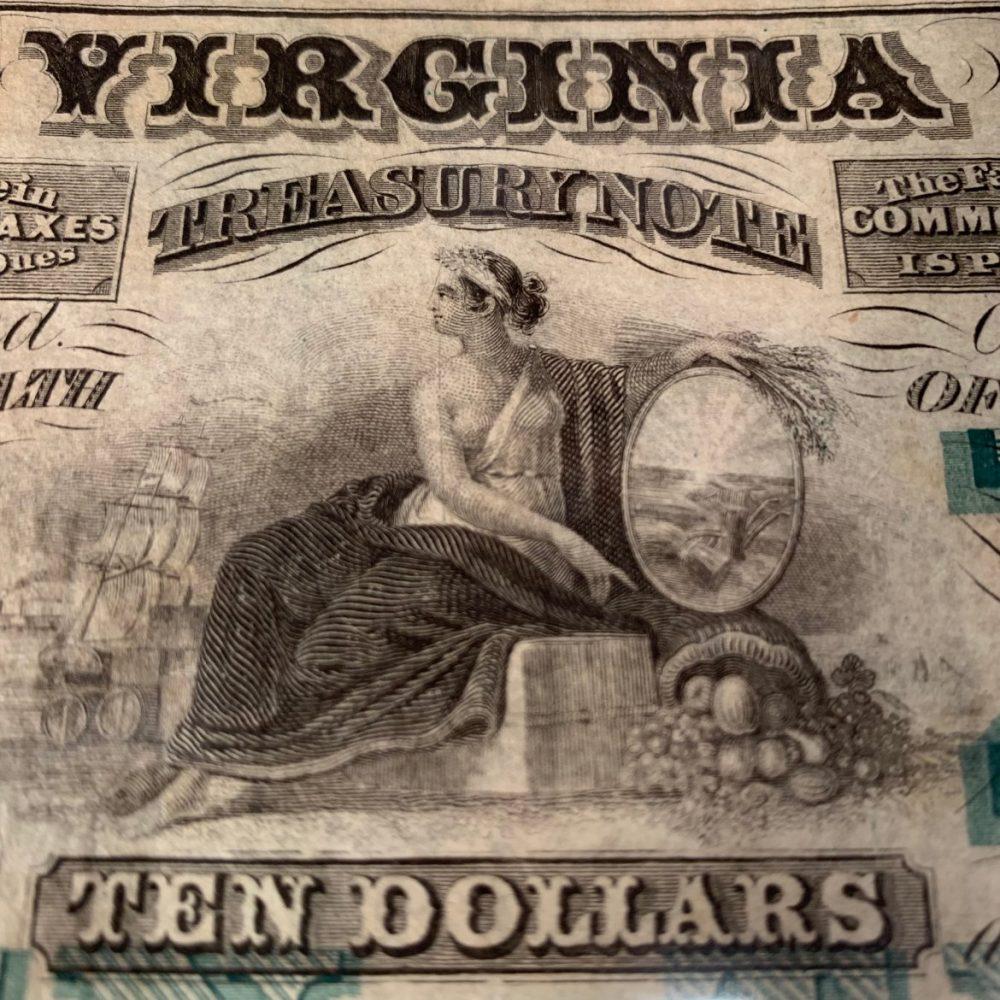 Virginia/Confederate Currency