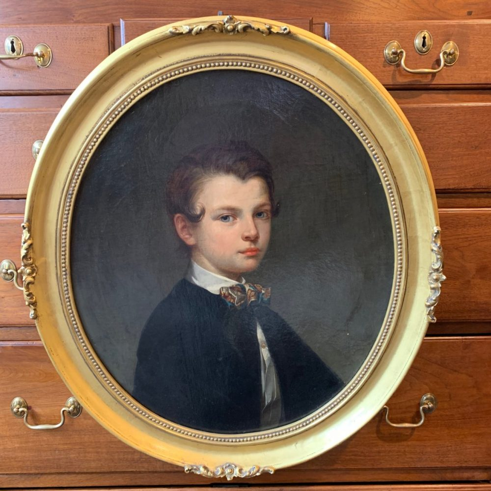 Fridolin Schlegel, Portrait of William Dyer of Washington