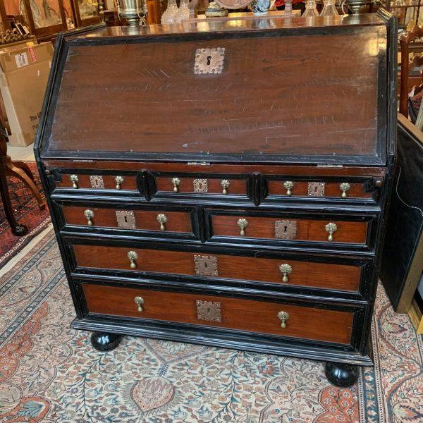 Dutch Colonial Slant Top Desk, Batavia