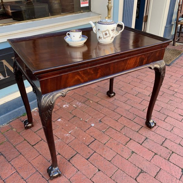 China Trade Chippendale Tea Table