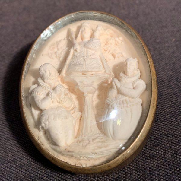 Meerschaum Souvenir of Notre Dame de Montaigu