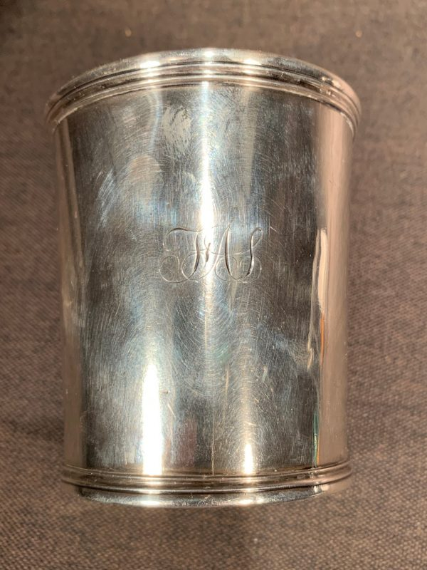 Philadelphia Coin Silver Julep Cup, Taylor & Lawrie for Bailey & Kitchen