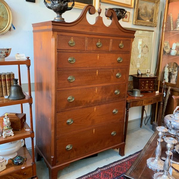 Shenandoah Valley Walnut Tall Chest