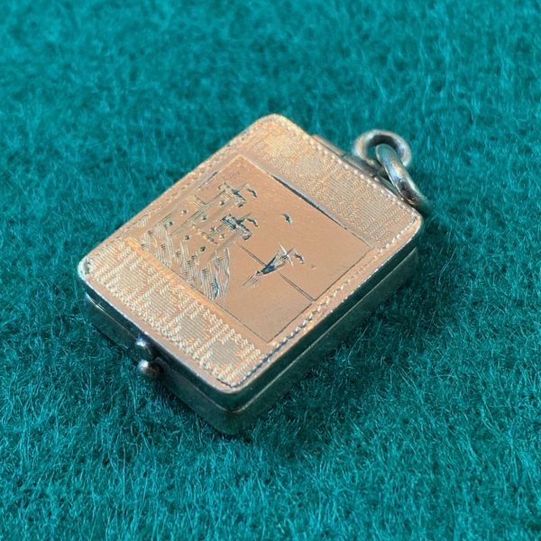 Rare Victorian Photo Locket With Magnifier