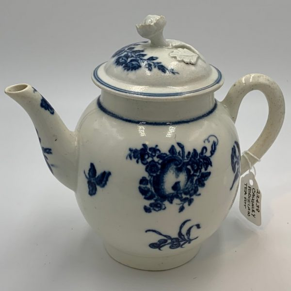 Caughley Porcelain Teapot