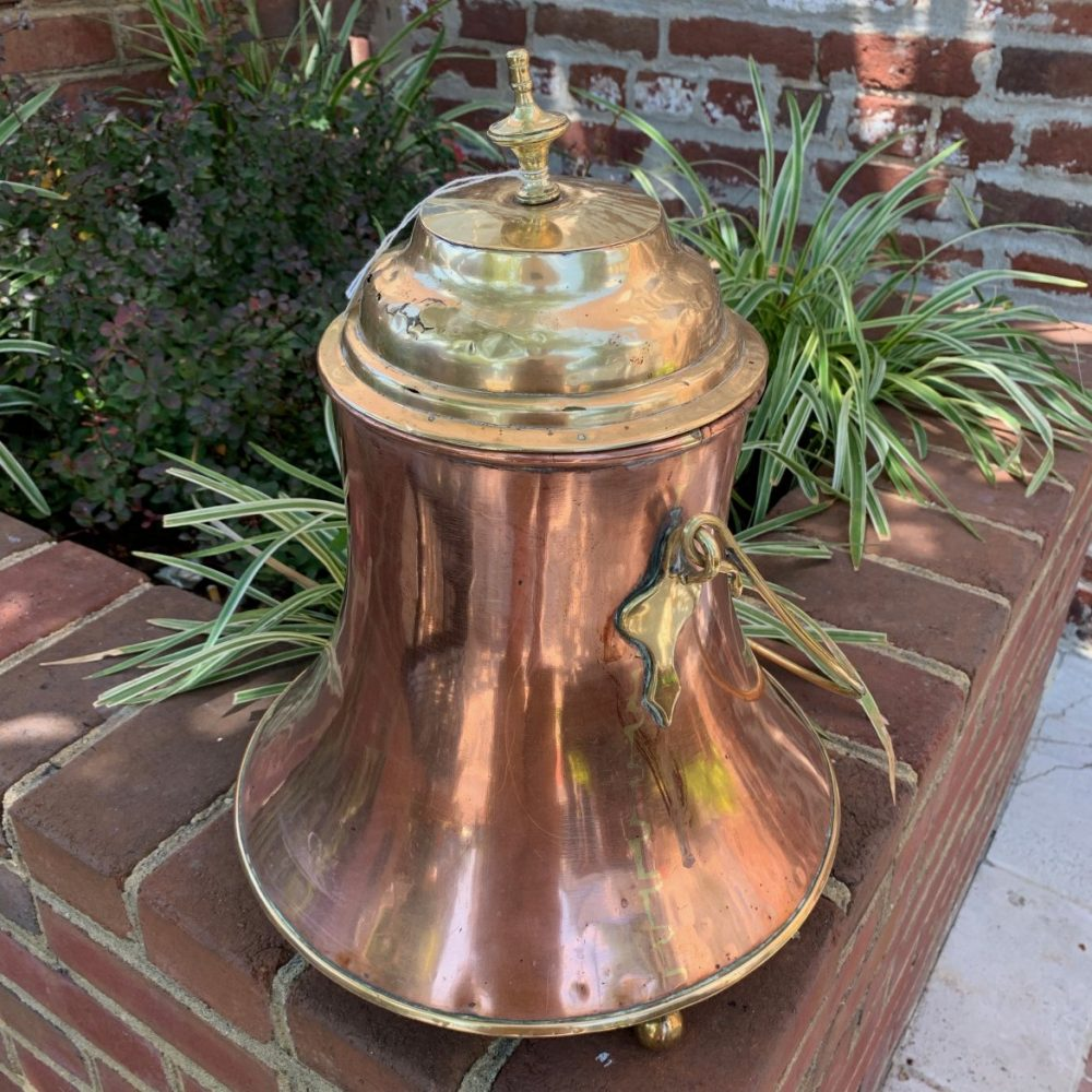 Dutch Brass and Copper Doofpot